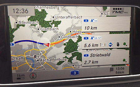 Speed cameras for<br>Mercedes COMAND Online & MBUX - SCDB info - The