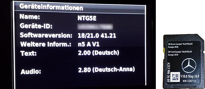 Blitzerdaten für Mercedes Garmin Map Pilot - SCDB info - Die