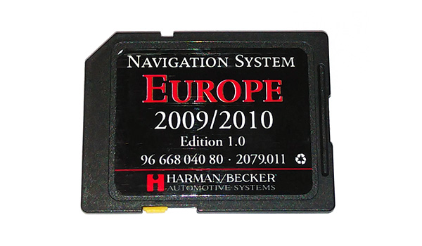 carte europe harman becker