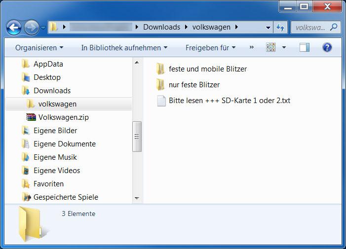 Mobile Blitzer Karte.Blitzer Fur Volkswagen Seat Skoda Scdb Info Die