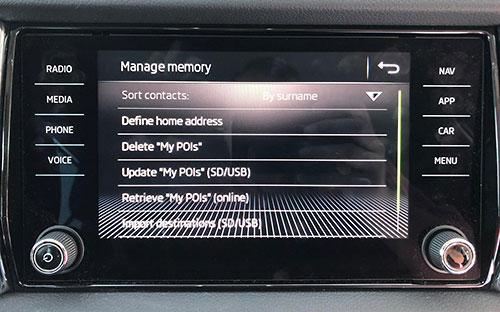 Speed cameras for Volkswagen, SEAT & Skoda - SCDB info - The